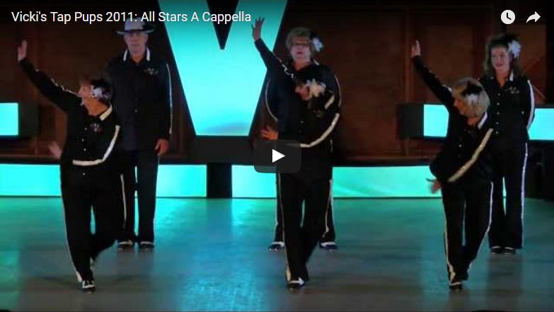 Vicki's Tap Pups 2011: All Stars A Cappella