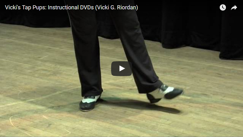 Vicki's Tap Pups: Instructional DVDs (Vicki G. Riordan)