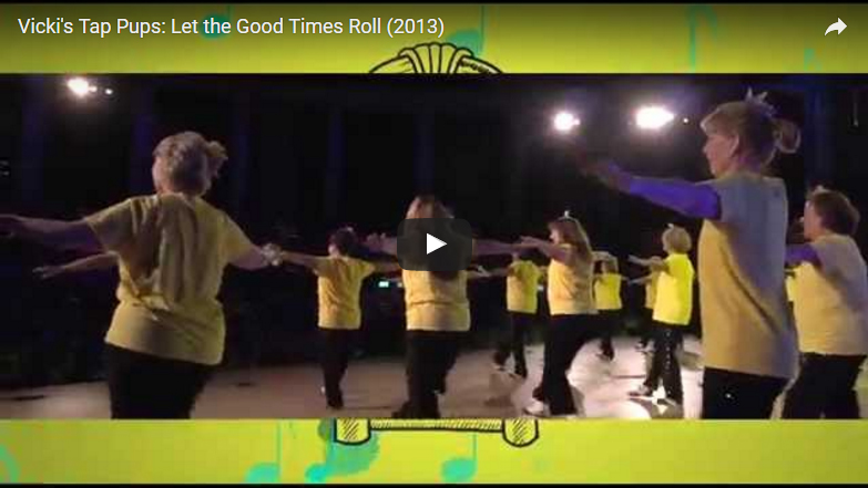 Vicki's Tap Pups: Let the Good Times Roll (2013)
