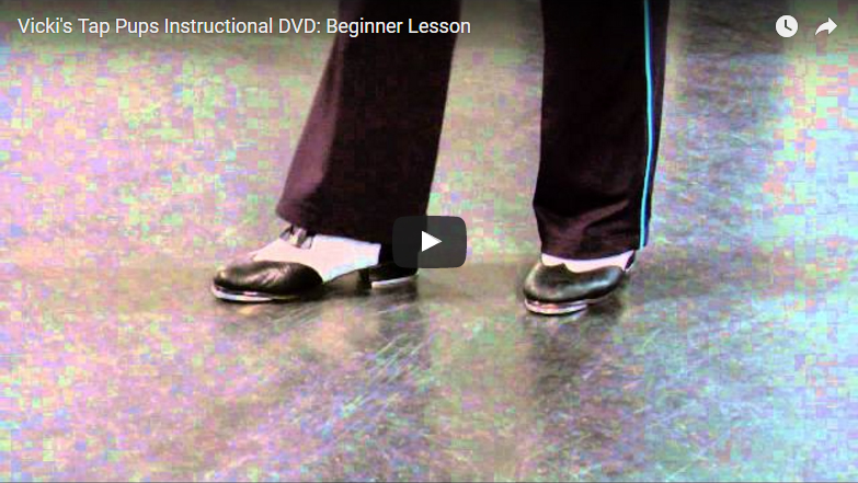 Vicki's Tap Pups Instructional DVD: Beginner Lesson