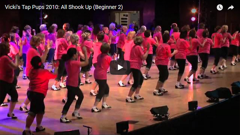 Vicki's Tap Pups 2010: All Shook Up (Beginner 2)