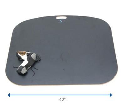 "Portable tap dance floor 42"" wide"