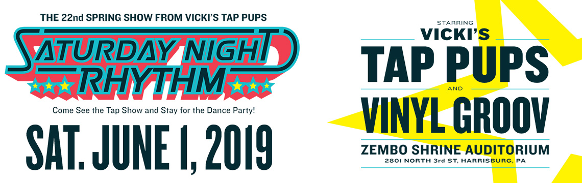 Annual Spring Show Vinyl Groove Dance Party Only Tap Pups